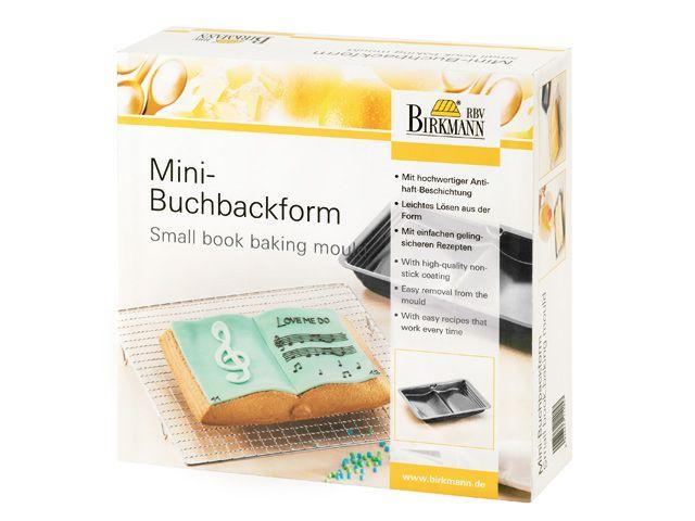 backform motivbackform buch klein 24x17x3 cm 900 ml kochgeschirr k. Black Bedroom Furniture Sets. Home Design Ideas