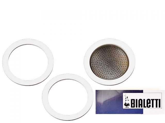 bialetti dichtung filter espressokocher 6 tassen edelstahl kochgesch. Black Bedroom Furniture Sets. Home Design Ideas