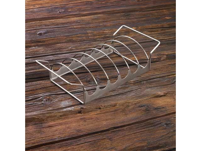 braten und rippchenhalter r sle grill zubeh r kochgeschirr. Black Bedroom Furniture Sets. Home Design Ideas