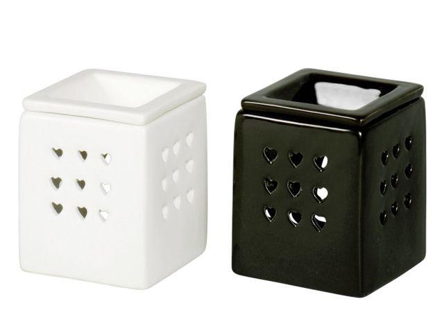 duftlampe keramik quadratisch 9x9x11 cm kochgeschirr k chenwerkzeug. Black Bedroom Furniture Sets. Home Design Ideas