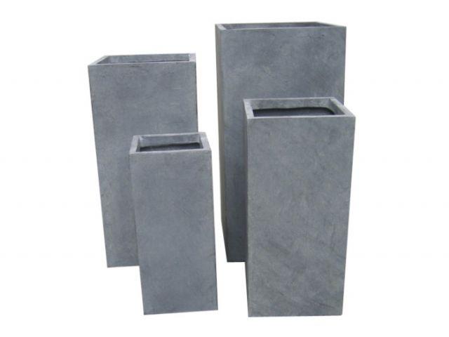 pflanzk bel elbe planzt pfe 4er set fibreclay granit kochg. Black Bedroom Furniture Sets. Home Design Ideas