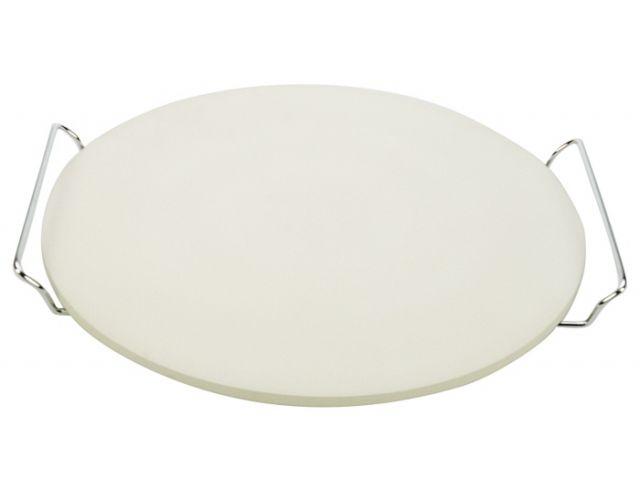 pizzastein rund 33 cm mit halter kochgeschirr k chenwerkzeuge gede. Black Bedroom Furniture Sets. Home Design Ideas