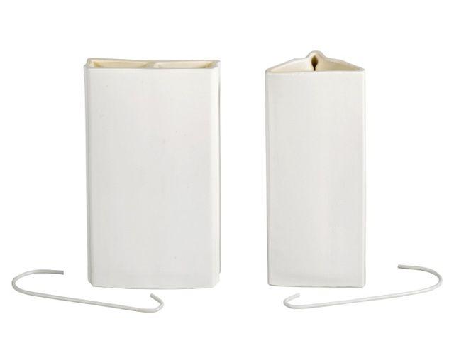 rippenverdunster luftbefeuchter bianka keramik 400 ml wei. Black Bedroom Furniture Sets. Home Design Ideas