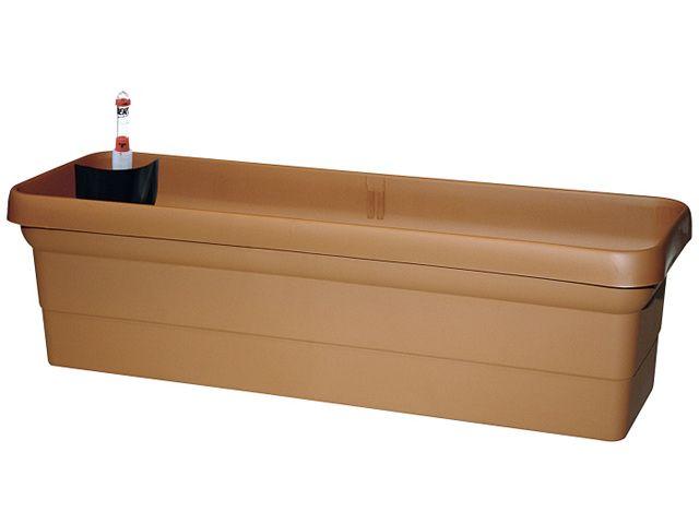 bew sserungskasten ravenna blumenkasten terrakotta 80 cm kochg. Black Bedroom Furniture Sets. Home Design Ideas