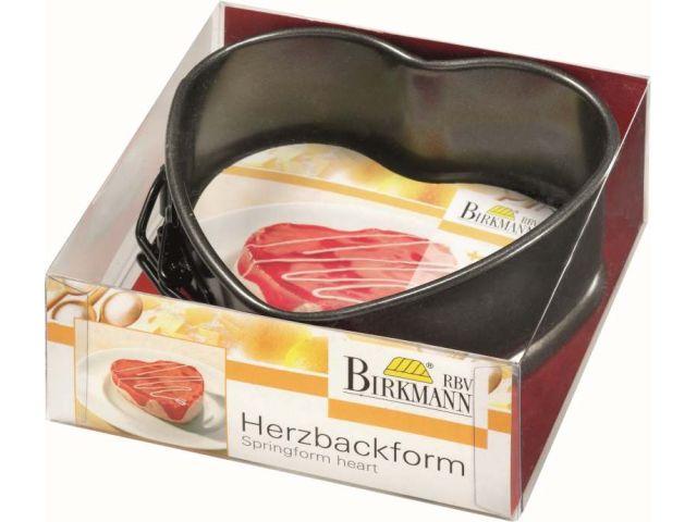 birkmann backform springform herz klein 11 cm kochgeschirr k chenw. Black Bedroom Furniture Sets. Home Design Ideas