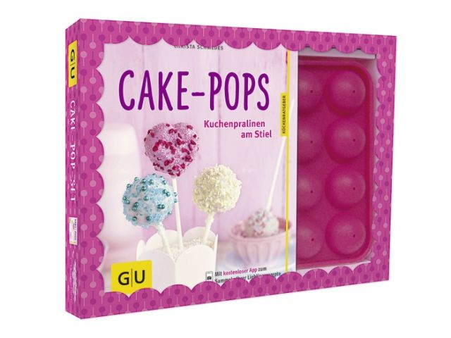 cake pop set starter kit mit ratgeber kochgeschirr k chenwerkzeuge. Black Bedroom Furniture Sets. Home Design Ideas