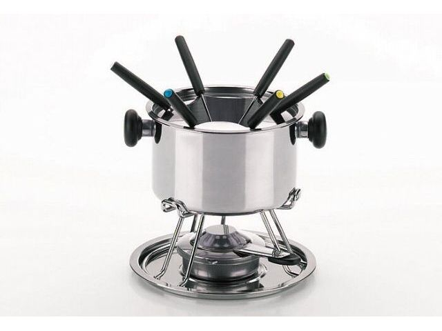 fondue set stockholm 11 tlg edelstahl f r 6 personen kela koc. Black Bedroom Furniture Sets. Home Design Ideas