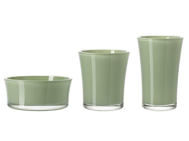 leonardo pflanztopf glas blumentopf gr n 15 5 cm kochgeschirr. Black Bedroom Furniture Sets. Home Design Ideas