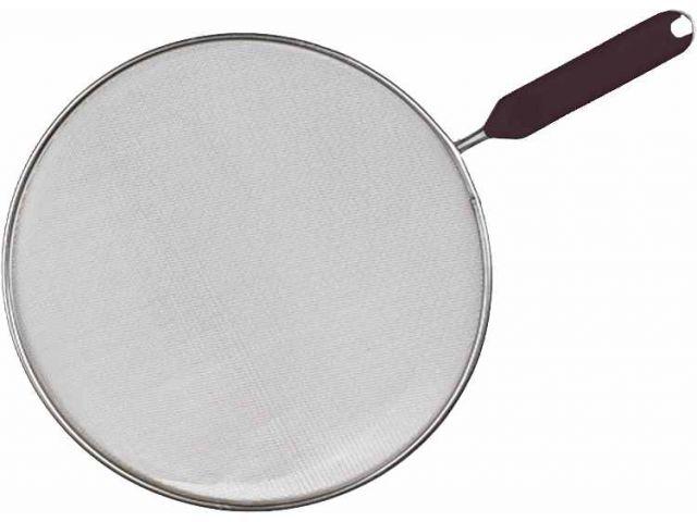Spritzschutz Edelstahl für Bratpfannen bis 29 cm ...