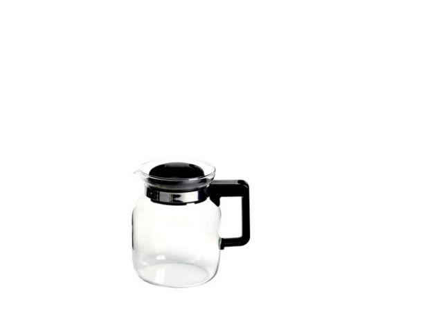 Teekanne Glaskanne Glas Europa 0,5 ltr. schwarz