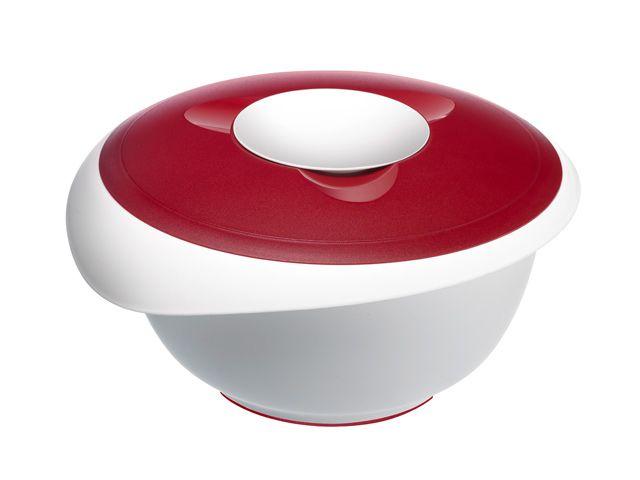 westmark backsch ssel 3 5 ltr rot mit deckel r hrsch. Black Bedroom Furniture Sets. Home Design Ideas