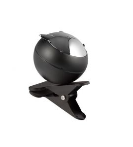 aschenbecher zum festklemmen ascher metall mit verchromtem deckel k. Black Bedroom Furniture Sets. Home Design Ideas