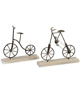 deko fahrrad 35x33cm kochgeschirr k chenwerkzeuge. Black Bedroom Furniture Sets. Home Design Ideas
