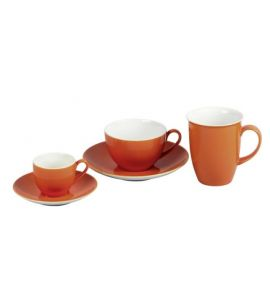 Doppio orange Kaffeetasse Kaffeeobere 200ml