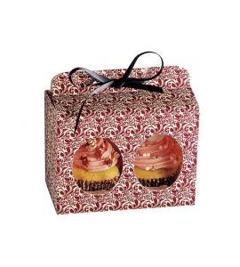 kaiser geschenkbox set f r 2 muffins oder cupcakes flora 5 stk. Black Bedroom Furniture Sets. Home Design Ideas