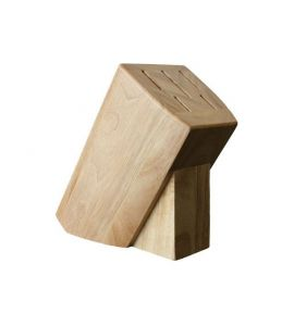 messerblock helles holz kochgeschirr k chenwerkzeuge. Black Bedroom Furniture Sets. Home Design Ideas
