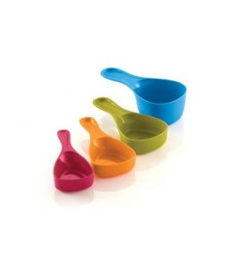 Reo Four Piece Snap Measuring Cup Set