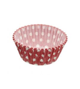 Sweetly Does It Mini Paper Cake Cases Spot 4.5 cm Pack of Eighty