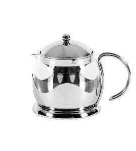 teekanne mit sieb edelstahlgestell le teapot 1 2 ltr kochgeschirr. Black Bedroom Furniture Sets. Home Design Ideas