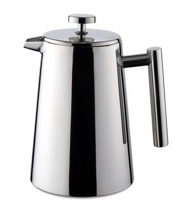 Weis Pressfilterkanne French Press thermoisoliert 1 ltr. Edelstahl