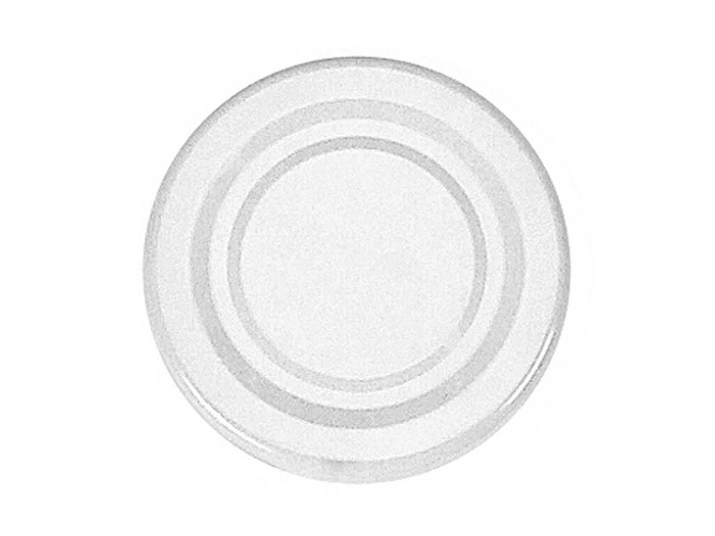 Twist-off-Deckel Schraubdeckel sterilisationsfest weiß 53 mm