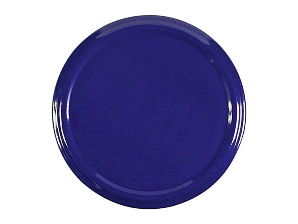 Twist-off-Deckel Schraubdeckel sterilisationsfest blau 82 mm