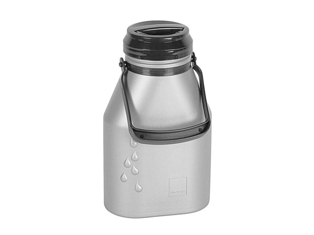 Milchkanne mit henkel 2 ltr auslaufsicher alu optik for Kühlschrank alu optik
