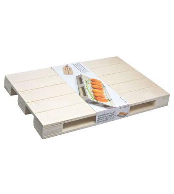 Palette Untersetzer Servierplatte Aus Holz 30x20x3 Cm Kochgeschirr